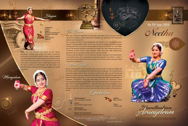 Arangetram Brochure